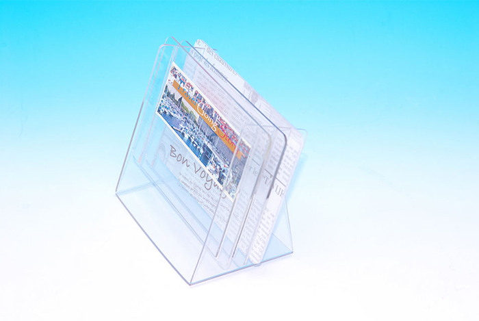 プラスチック製POP 三段スタンドPOP