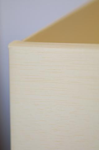 1段ボックスディスプレイ什器 木目調