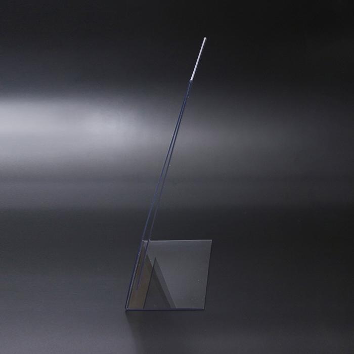 プラスチック製POP 縦置きL字型POP