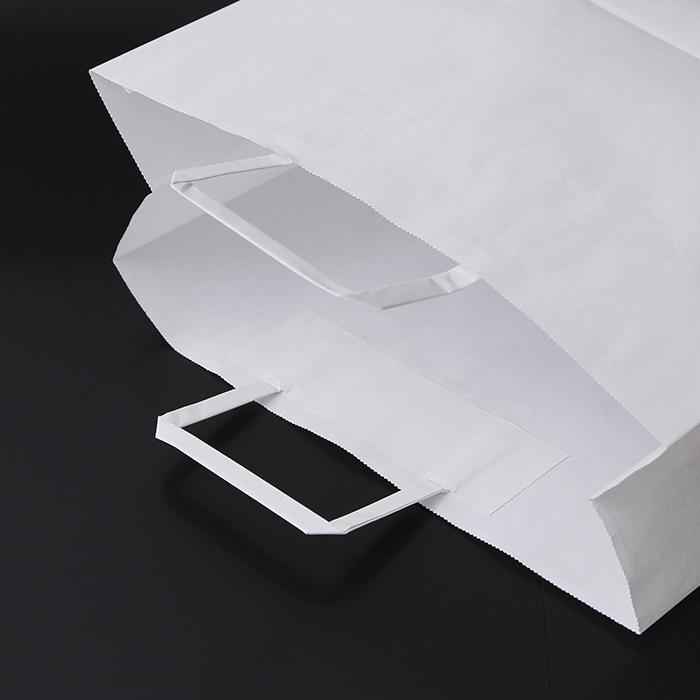 安価型手提げ袋 紙の平ヒモ