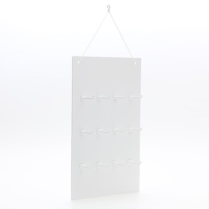 紙製陳列什器 つり下げ型POP