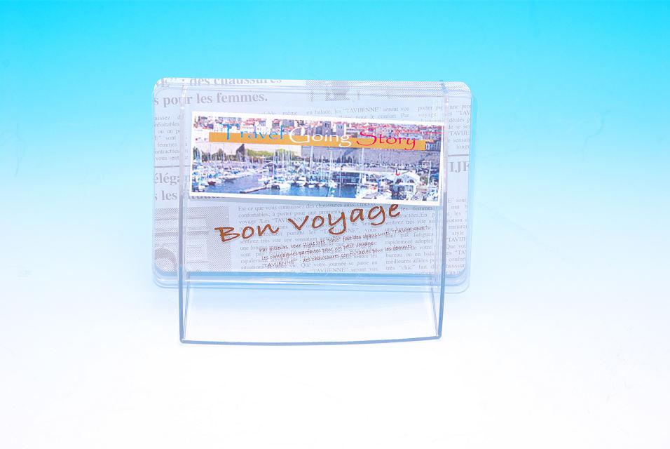 POPディスプレイ用品へのオリジナルデザイン印刷 フルカラー印刷例