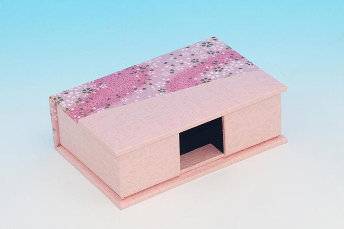 貼り箱のオリジナリティー演出(特殊形状) 和紙タイプ
