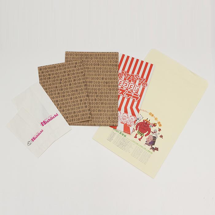 手提げ袋 一般的な平袋 一般的な小物や軽い物を入れるのに最適