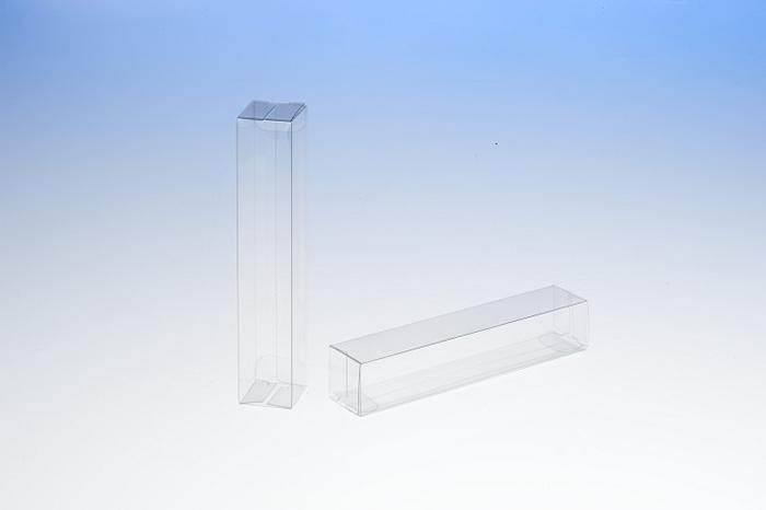 クリアケース キャラメル式 縦長型直方体状