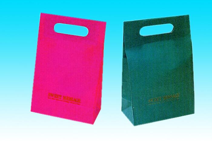 手提げ袋 一般的な平袋 提げ手付きタイプ