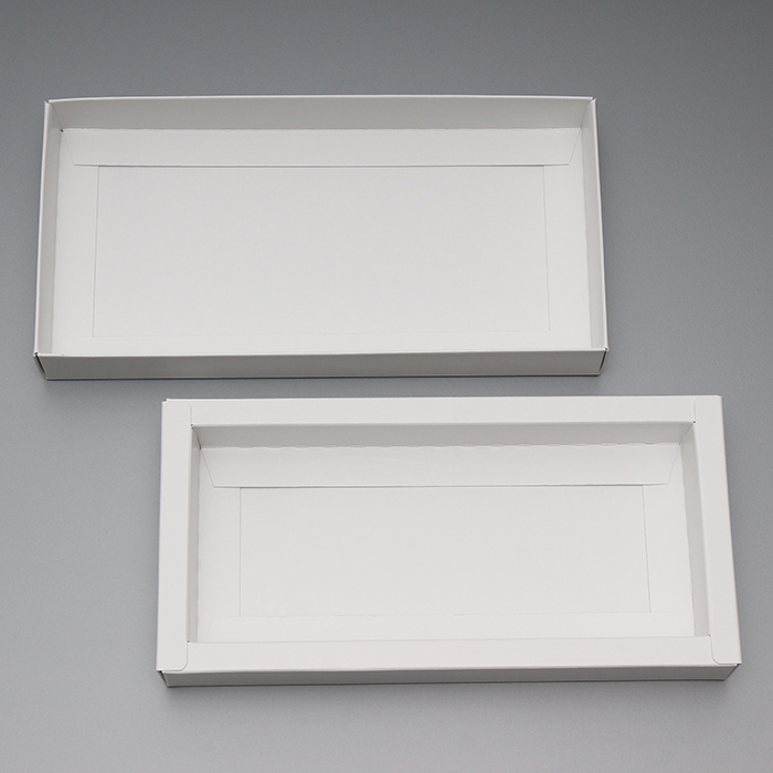 紙製品 フタ身式・組み立て箱・枠付き