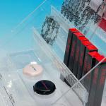 プラスチック製POP 置き型什器 陳列用配置板